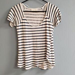 Zara Collection 100% Linen Top